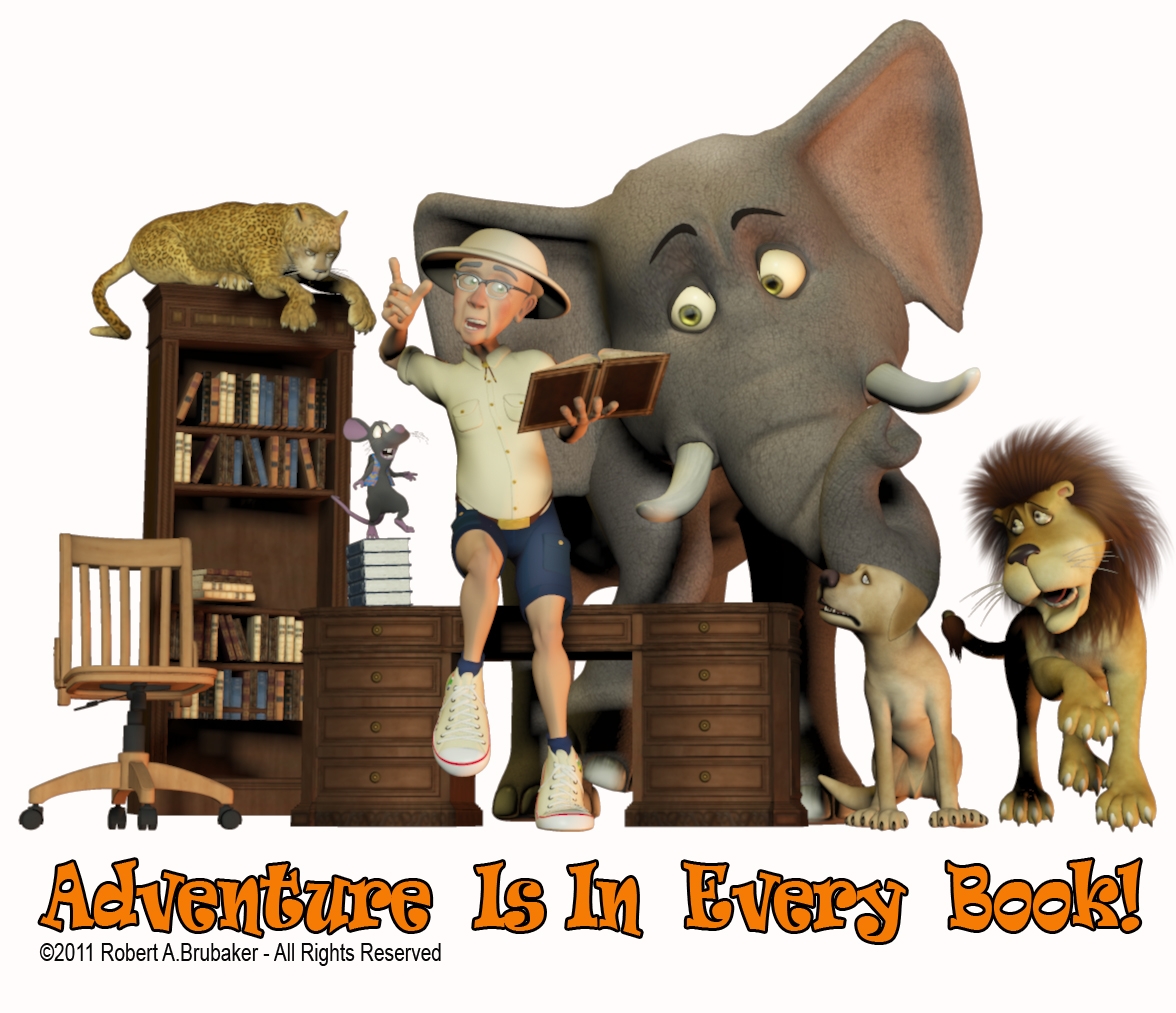 ADVENTURE IS IN EVERY BOOK